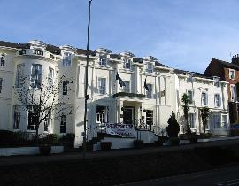 Banbury House hotel, the exterior painting and decorating work has finished