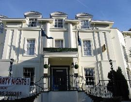 Banbury House hotel, entrance after completion